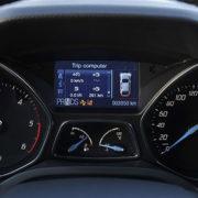 Значок снежинка на панели Ford Focus 3