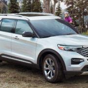 Первые официальные фото нового Ford Explorer 2019