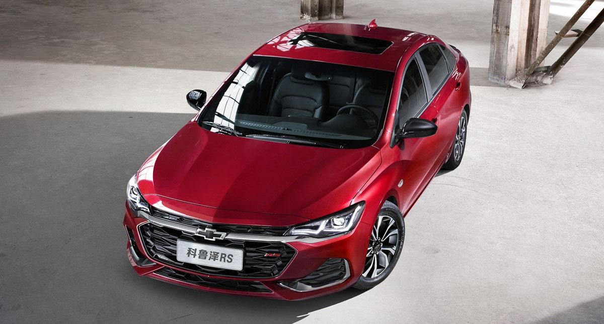 Chevrolet Monza 2019 для Китая
