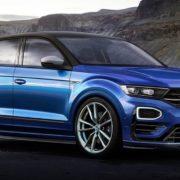 Заряженный Volkswagen T-Roc R