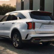 Заправочные объемы Kia Sorento 2020-2021