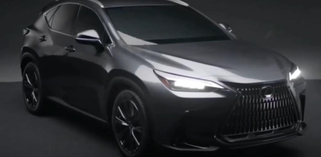 Новое поколение Lexus NX 2022