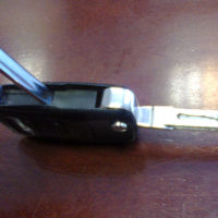 Замена батарейки в ключе Mazda 3/6