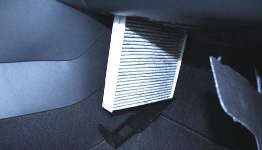 Skoda Rapid оригинальный фильтр салона