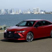 Новое поколение Toyota Avalon в США
