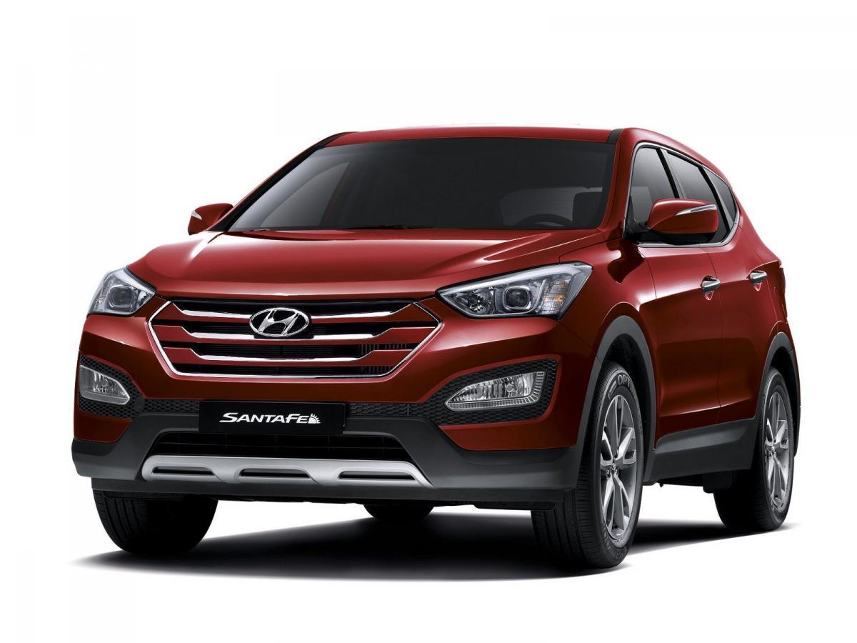 Замена воздушного фильтра Hyundai Santa Fe 3