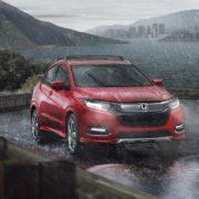 Honda HR-V 2019 - обновленная внешность и новый турбомотор