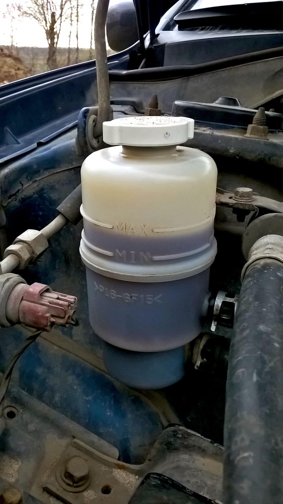 Уходит жидкость гур лансер 9