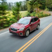 Обновленный Subaru Forester 2019 скоро в России