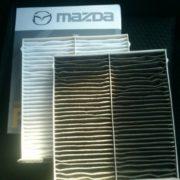 Замена салонного фильтра Mazda 3 BM с 2013 г.