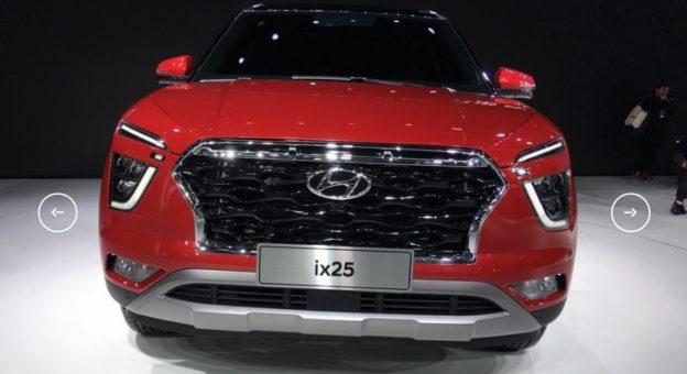 Hyundai Creta новая